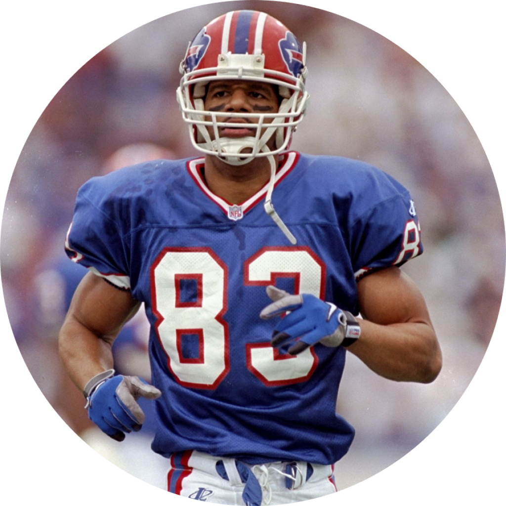 Andre Reed - NFL is a Rich Mar Florist Celebrity Customer