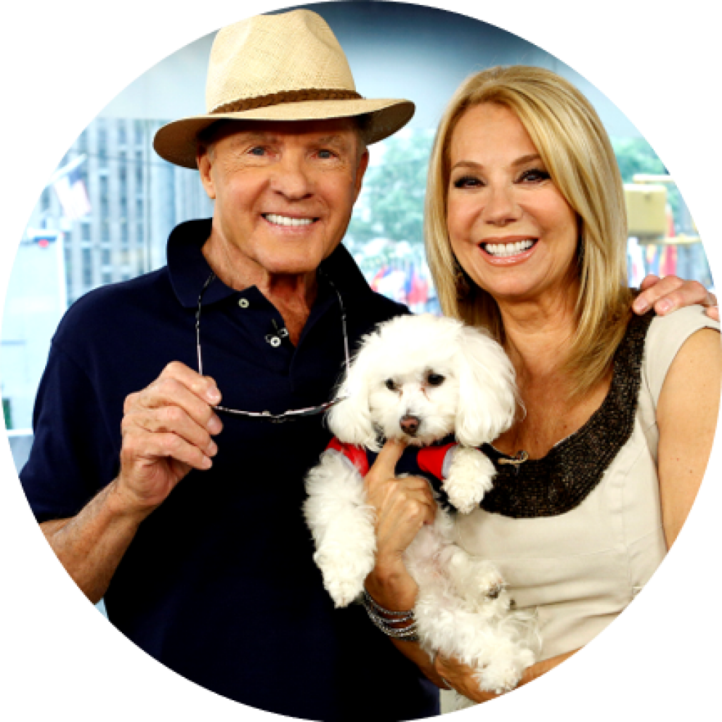 Frank and Kathy Lee Gifford is a Rich Mar Florist Celebrity Customer