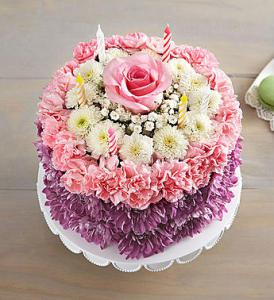 Pastel Birthday Wishes by Rich Mar Florist