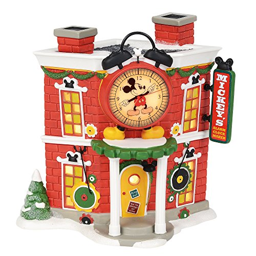 Mickey's Alarm Clock Shop by Department 56 by Rich Mar Florist