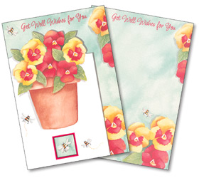 Get Well Wishes for You by Rich Mar Florist