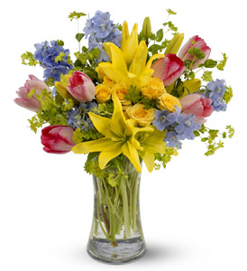 Spring Delight by Rich Mar Florist