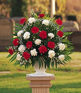 Hope and Honor Basket by Rich Mar Florist