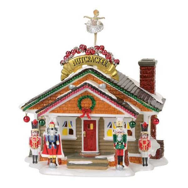 The Nutcracker House by Department 56 by Rich Mar Florist