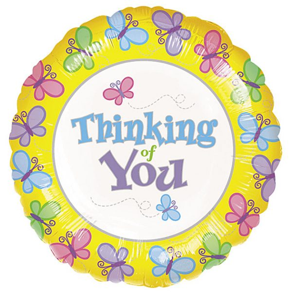 Thinking of You Mylar Balloon by Rich Mar Florist