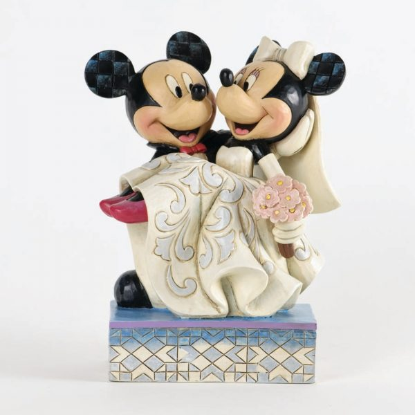 Congratulations Mickey & Minnie by Department 56 by Rich Mar Florist