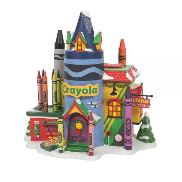 Crayola Crayon Factory by Department 56 by Rich Mar Florist