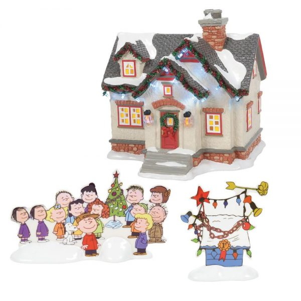 The Peanuts House by Department 56 by Rich Mar Florist